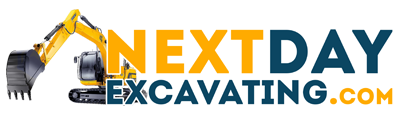 Next Day Excavating Logo
